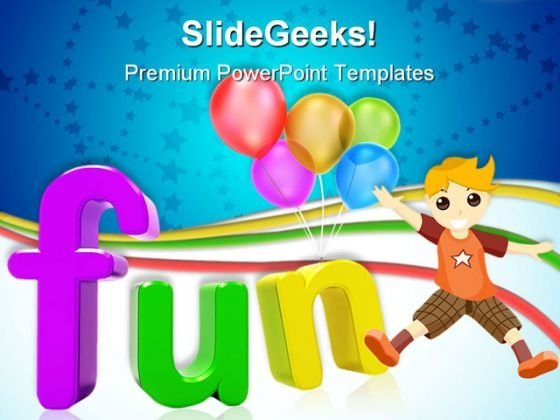 Fun Abstract Entertainment PowerPoint Templates And PowerPoint Backgrounds 0411