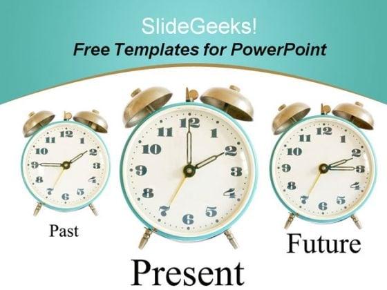 Future Clocks PowerPoint Template