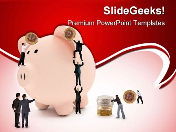 Future Savings Business PowerPoint Templates And PowerPoint Backgrounds 0311