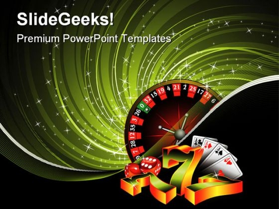 Gambling Game PowerPoint Templates And PowerPoint Backgrounds 0511