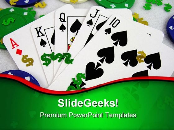 Gambling Game PowerPoint Templates And PowerPoint Backgrounds 0811