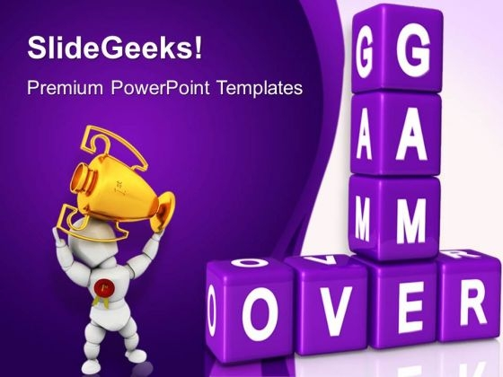 Game Over01 Success PowerPoint Templates And PowerPoint Themes 0412