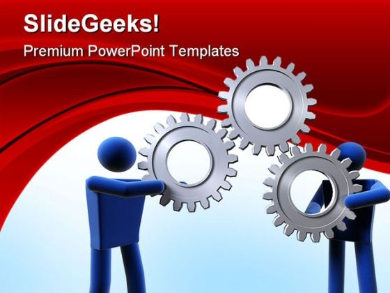 Gear Business Industrial PowerPoint Templates And PowerPoint Backgrounds 0411