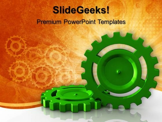 Gear Wheel Industrial PowerPoint Templates And PowerPoint Themes 0712