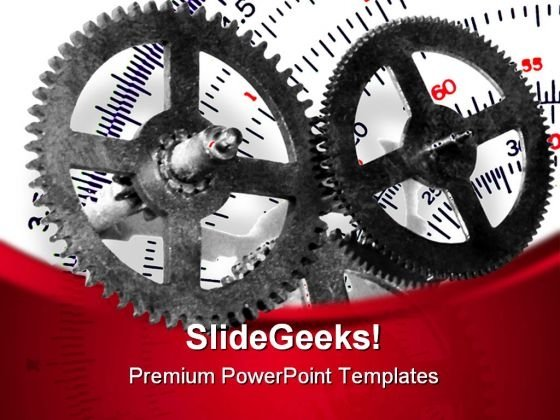 Gears01 Industrial PowerPoint Templates And PowerPoint Backgrounds 0611