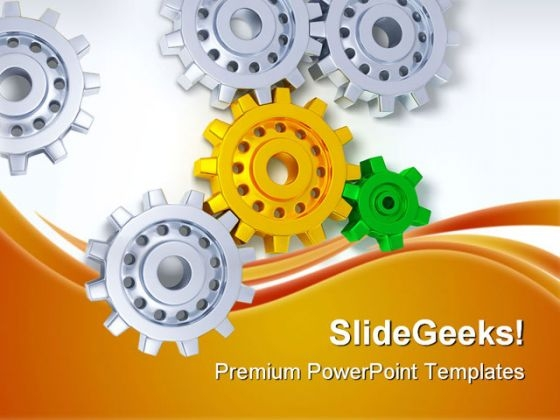 Gears01 Industrial PowerPoint Templates And PowerPoint Backgrounds 0711