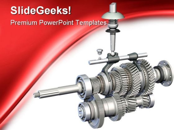 Gears Industrial PowerPoint Templates And PowerPoint Backgrounds 0311