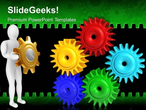 Gears Industrial PowerPoint Templates And PowerPoint Themes 0512