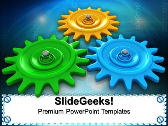 Gears Process Gearwheels PowerPoint Templates And PowerPoint Themes 0512