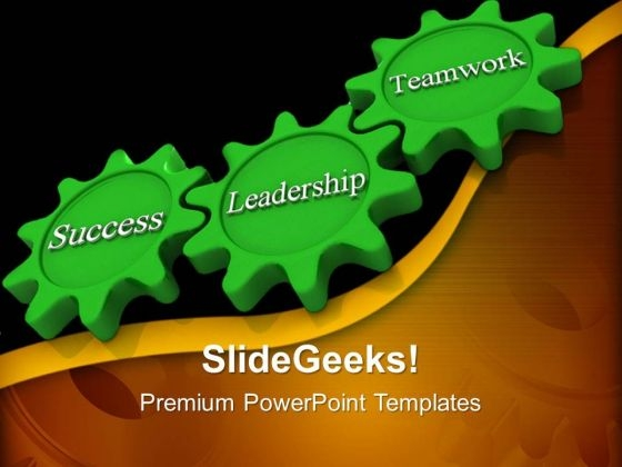 Gears Process Teamwork PowerPoint Templates And PowerPoint Themes 0512