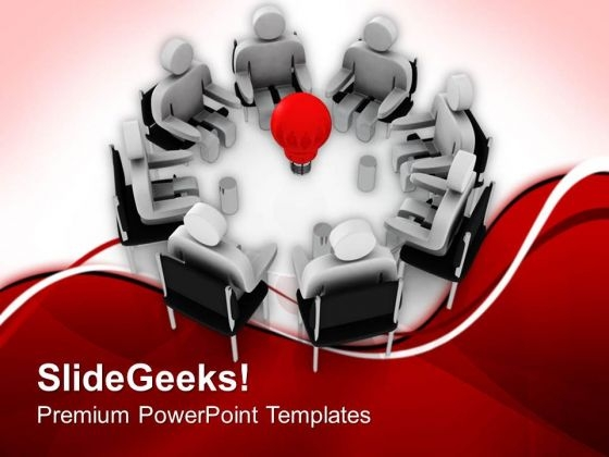 Generate Right Idea For Growth PowerPoint Templates Ppt Backgrounds For Slides 0713