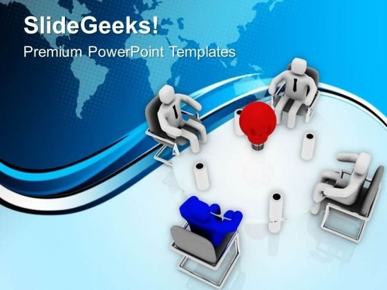 Generate The Big Idea For Business Success PowerPoint Templates Ppt Backgrounds For Slides 0613