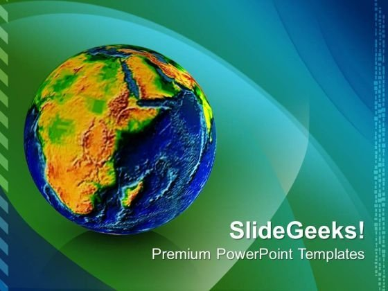 Geography Earth Globe PowerPoint Templates And PowerPoint Themes 0712