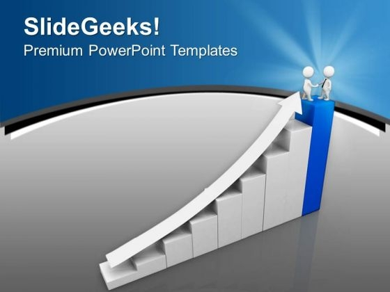 Get The Number One Position PowerPoint Templates Ppt Backgrounds For Slides 0713