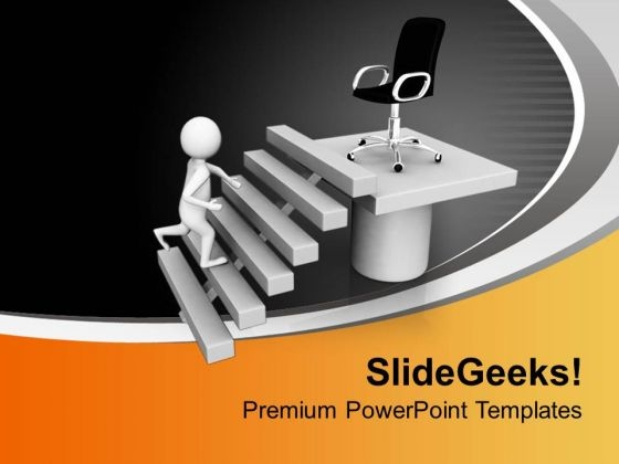 Getting The Senior Position Is Important PowerPoint Templates Ppt Backgrounds For Slides 0713