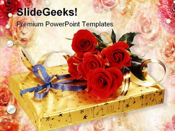 Gift Festival PowerPoint Themes And PowerPoint Slides 0411