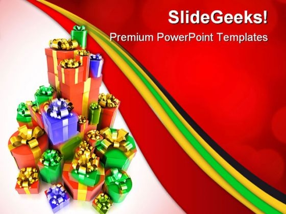 Gifts Festival PowerPoint Themes And PowerPoint Slides 0511