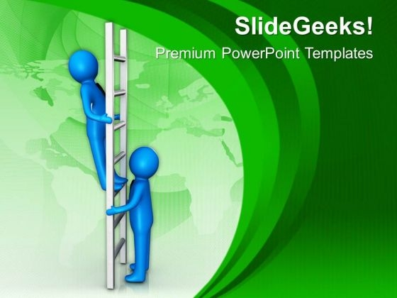 Give Competition To Others For Getting Success PowerPoint Templates Ppt Backgrounds For Slides 0713