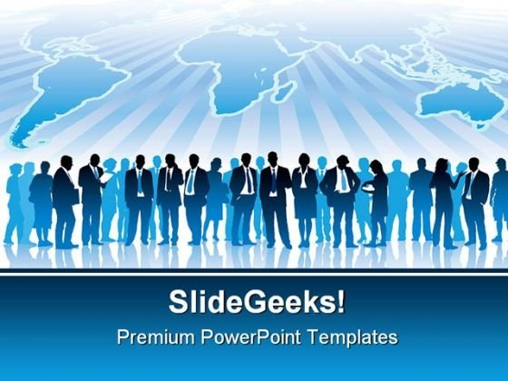 Global Business Communication PowerPoint Templates And PowerPoint Backgrounds 0611