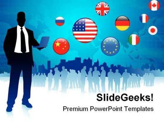 global business communication powerpoint templates and powerpoint, Modern powerpoint