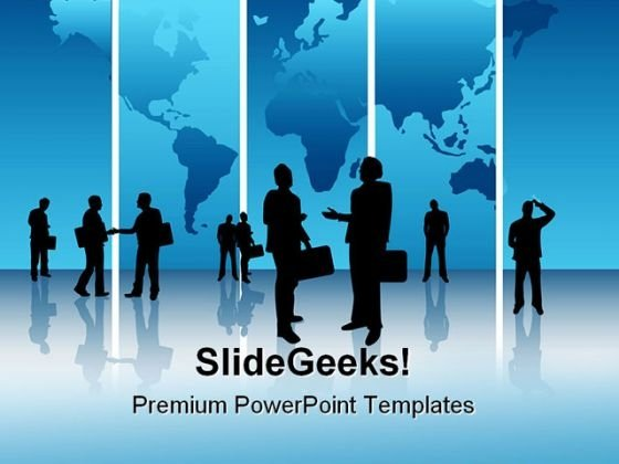 Global Business Concept Success PowerPoint Templates And PowerPoint Backgrounds 0611