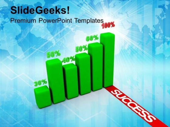 Global Business Graph Success PowerPoint Templates Ppt Backgrounds For Slides 1112
