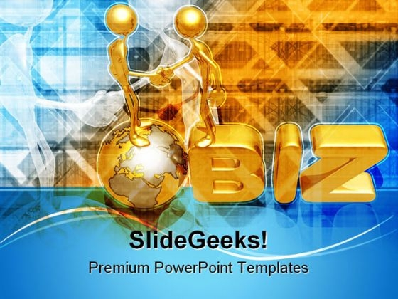 Global Business Handshake PowerPoint Templates And PowerPoint Backgrounds 0611