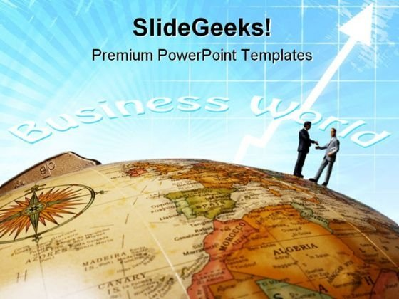 Global Business Success PowerPoint Templates And PowerPoint Backgrounds 0611