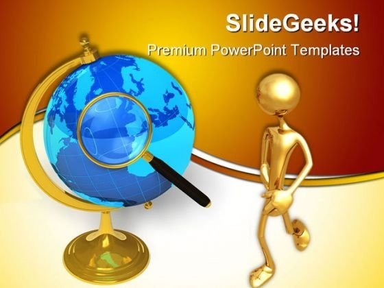 Global Communication Concept Technology PowerPoint Templates And PowerPoint Backgrounds 0311