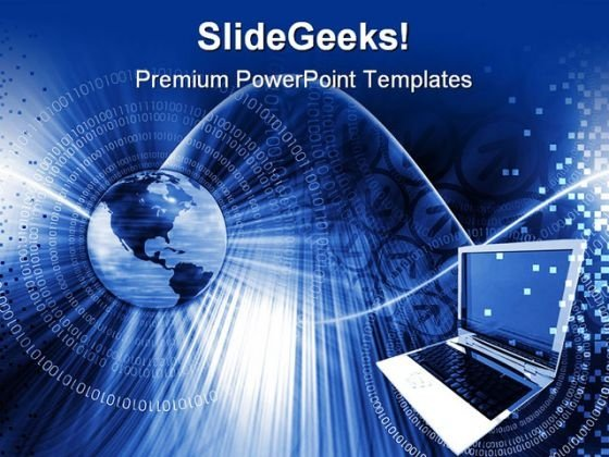 Global Computer Technology PowerPoint Templates And PowerPoint Backgrounds 0711