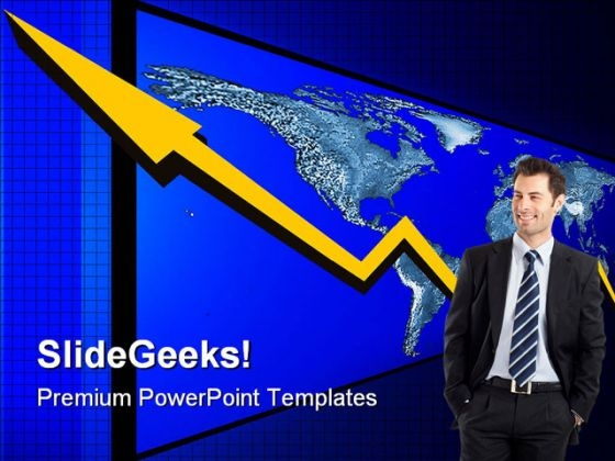 Global Economy Finance PowerPoint Templates And PowerPoint Backgrounds 0611