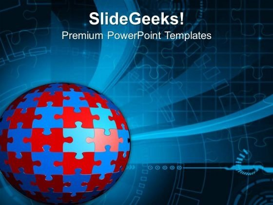 Global Exposure Is Good For Business PowerPoint Templates Ppt Backgrounds For Slides 0513