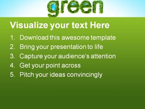 global_green_environment_powerpoint_templates_and_powerpoint_backgrounds_0611_text