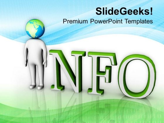 Global Information Concept Image PowerPoint Templates Ppt Backgrounds For Slides 0813