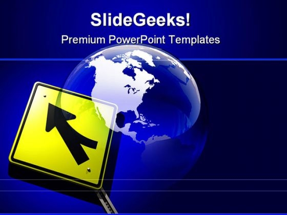 Global Merger Globe PowerPoint Themes And PowerPoint Slides 0211