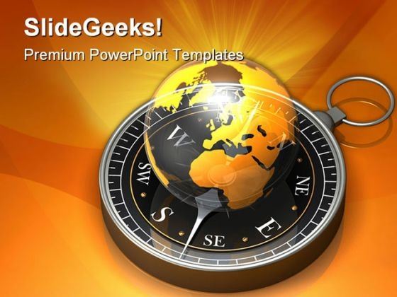 Global Navigation Geographical PowerPoint Templates And PowerPoint Backgrounds 0211