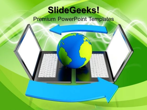 Global Network Internet PowerPoint Templates And PowerPoint Themes 0912