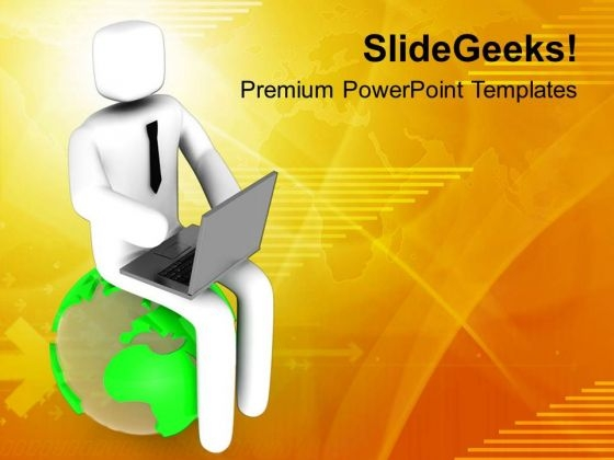 Global Networking Concept PowerPoint Templates Ppt Backgrounds For Slides 0713