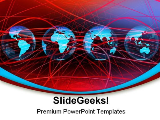 Global Networking Internet PowerPoint Themes And PowerPoint Slides 0211