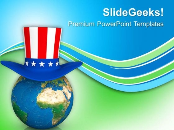 Global Patriotic Day Americana PowerPoint Templates Ppt Backgrounds For Slides 0813