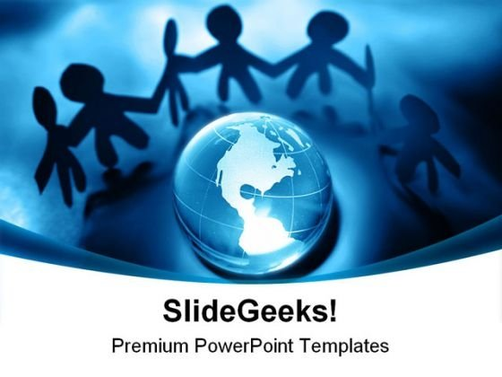 Global Peace People PowerPoint Backgrounds And Templates 0111