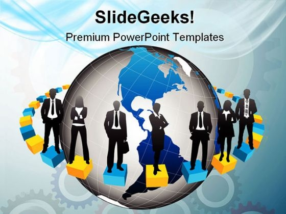 Global People Business PowerPoint Themes And PowerPoint Slides 0511