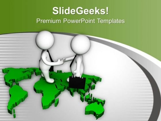 Global Relation Is Important In Business PowerPoint Templates Ppt Backgrounds For Slides 0613