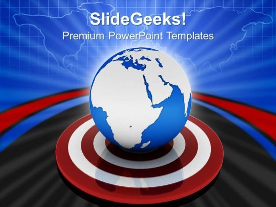 Global Targets PowerPoint Templates And PowerPoint Themes 0812