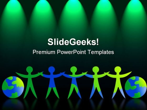 Global Team Leadership PowerPoint Templates And PowerPoint Backgrounds 0611