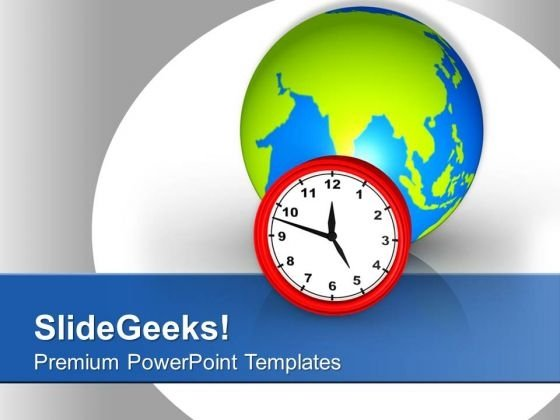 Global Time Valution For Business PowerPoint Templates Ppt Backgrounds For Slides 0513