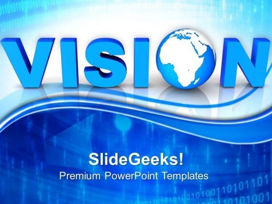 Global Vision Business PowerPoint Templates And PowerPoint Themes 0812