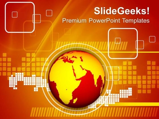 Global Warming Business PowerPoint Templates And PowerPoint Themes 0812