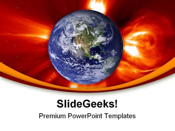 Global Warming Geographical PowerPoint Themes And PowerPoint Slides 0211