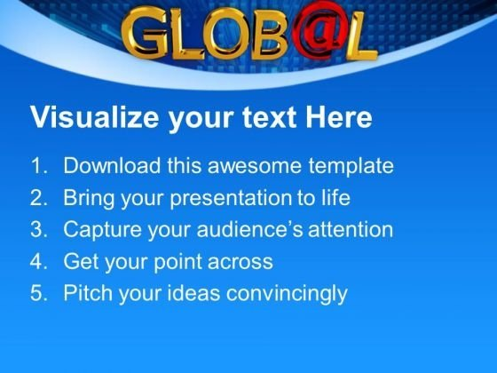 global_with_a_shiny_red_at_symbol_metaphor_powerpoint_templates_and_powerpoint_themes_1012_text